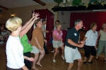 Dancing to the oldies; I had a ball!
