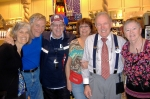 Fred & Nancy Robertson, Craig & Mary Lou Eby, Skip and Barb Snyder-Eby met on 2/9/13 at the Hollywood Studios at